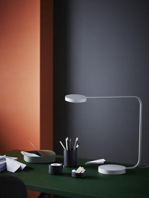 Modern skrivbordslampa.