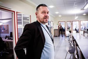 Lars Ulander, chef för Migrationsverkets mottagningsenhet i Söderhamn.