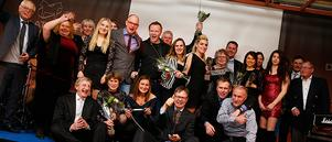 Alla vinnare på Dalatravets årliga gala.
