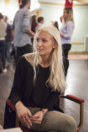 Adepten Johanna Eldh som har ett år kvar på Personalvetarlinjen.