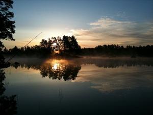 Klockan var 03 på morgonen när bilden togs av mig. Det är inte mycket som slår denna vackra natur.