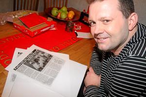 Magnus Hedlund vann Julcupen Med Sala FF för 29 år sedan. Foto: Niclas Bergwall