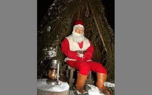 Tomten kan pusta ut efter sina äventyr. Nu får han sitta i sin koja över tjugondag Knut.