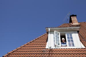 """""""Det kan vara svårt att hitta sotare som vågar sig upp på taket."""""""
