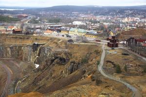 Falu gruva är en av de mest instagrammade turistmålen i landet - och toppar listan i Dalarna.