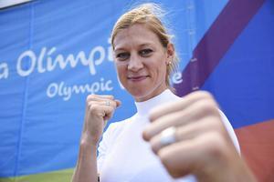 Färdigboxat för Anna Laurell. Den tidigare världsmästaren föll direkt i OS i Brasilien.