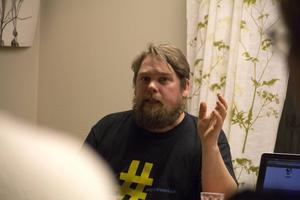 Albin Ponnert från Hela Sverige ska leva.