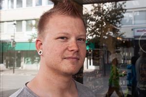 Mattias Arvidsson, Sollefteå:– I går kväll kramade jag min pappa godnatt. Det har jag gjort sen jag var liten.
