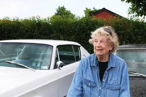 Anna-Lisa fyller 90 i år. Hon ser fram emot att få åka runt på Power Meet.