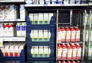 Det är ont om mejeriprodukter i Gästrikland när mejeriet har tekniska problem.