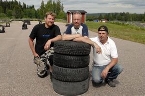 Hedemora har fått en ny motorklubb. Jimmy Wallström, Kenneth Florén och Stig Andersson är tre av initiativtagarna till nybildade Hedemora Event MK.