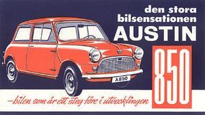 Hundkojan marknadsfördes som den stora bilsensationen.