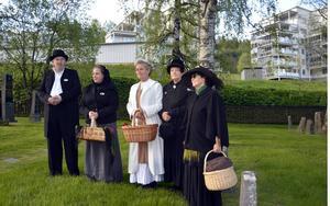 Tord Lundgren, Catrin Bertlin, Tina Johansson, Jana Lindh Olsson och Lisbeth Malm levandegör de människor som grundade det Sundsvall vi känner