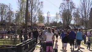 Totalt räknade man med omkring 4000 besökare under dagen.