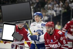 Flera tittare fick problem med sändningarna från Hockeyallsvenskan och SHL under de första omgångarna.