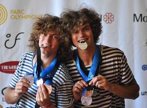 Josef och Martin Sjönneby från Österfors i Gagnef reste till Kanada och vann flera medaljer.