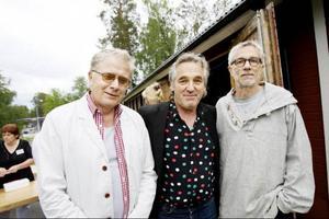 Mats Klingström, Anders Forsslund och Christer Jonasson.