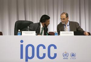 Skribenten tvivlar på IPCC:s modeller.