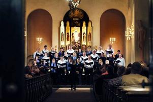 Staffanskyrkan var välbesökt i gårdagens körkonsert med Forsbacka Kammarkör.
