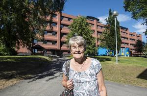 Karin Thillberg jobbade som barnsjuksköterska på gamla sjukhusets neonatalavdelning.