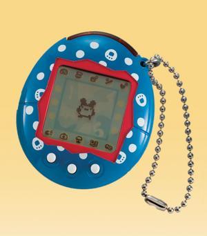 Det elektroniska husdjuret, här i form av Tamagotchi, blev Årets julklapp 1997.