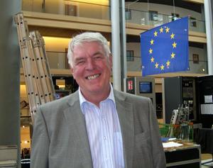 Steg uppåt? Skogsprofessor Sören Wibe har suttit i EU-parlamentet förr och siktar nu på comeback för Junilistan.