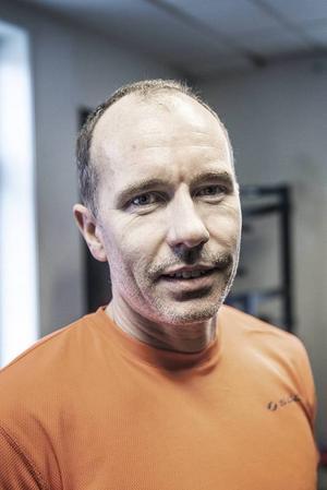 Joakim Ek, 45 år, Östersund:– Det är galet. Man är här på gymet för att må bra och bygga sin hälsa och då känns det som att något är galet, att man stoppar i sig något som kroppen mår dåligt av.