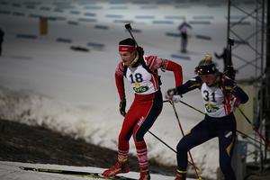 Emanuel Westberg tävlandes för Tullus slutade på en 2:a plats under fredagens lopp i H 16-17.