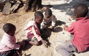 Det Inga-Lill minns mest från volontärperioden på barnhemmet är barnens olika livsöden.FOTO: PRIVAT