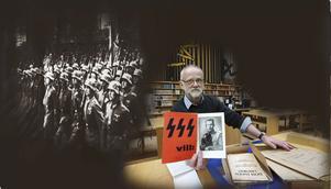 Nazistledaren Erik Walles gömde partiets juderegister i Malung. Mindre känt är att han åren före sin död överlämnade sina privata arkiv till Riksarkivet. DD:s Gubb Jan Stigson och Staffan Björklund har granskat dem.