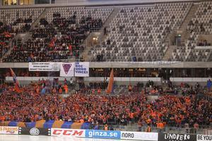 Bollnäs Flames fyllde sin kortsida i årets SM-final – men runt om fanns det gott om lediga platser.