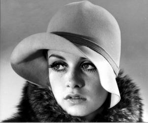Gösta Peterson var den första att fotografera modellen Twiggy när hon kom till USA.