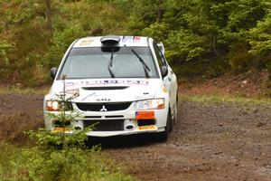 Tobias Johansson körde för andra raka segern i Svenska RallyCupen, vinner Heda Gästabudstrofén.