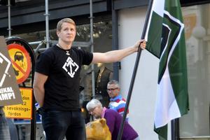 Svenska motståndsrörelsen intog Storgatan i Sundsvall i september 2014. Med bland personerna fanns Ingemar Westerbring, ledare för Näste 4.