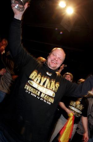 1999 vann Brynäs SM-guld med Roger Melin i tränarbåset. 18 år senare kan hockeylivet vara över.