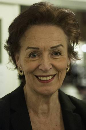 Inger Landerberg, ordförandei Kälarne Jazz- och bluesklubb.