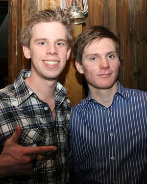 Konrad. Glen och Johan