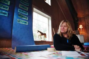 Sinnesupplevelser som leder till konstnärligt skapande står i fokus när Jeanette Wahl och hennes syster Marika Wahl-Lindberg bjuder in till konstworkshop i Björnänge.