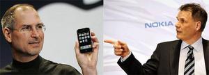 Nokia stämmer Apple för Iphone