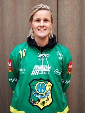 Johanna Petterson var nöjd efter segern i premiären.