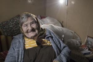 På landsbygden i Lettland bor många äldre och fattiga personer.