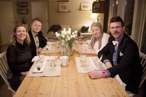 Karin Stolt Halvarsson, Per Josefsson, Ulla Andersson och Jesper Johnsson.