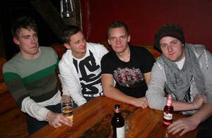 Konrad. Mange, Johan, Persson och Niclas