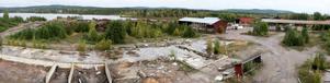 En företagare vill starta verksamhet med träförädling på före detta Grangärde Ångsågs område. Kommunens miljöchef har avrått företagaren från att köpa fastigheten.