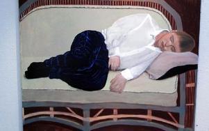 Morfeus. Porträttmålning av Angelica Kristenson Aurelius.