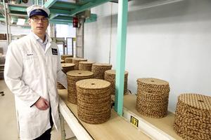 Ny marknad för knäckebröden tror Peter Joon.