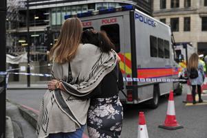 Helgens terrordåd skakar London.