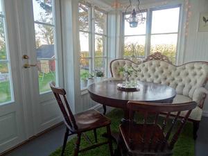Linda Lignell skickade in denna bild på det nyrenoverade hemmet i Trångsviken.
