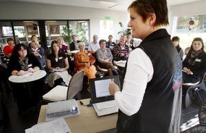 Katarina C Bång talade om gemensam tillväxt.