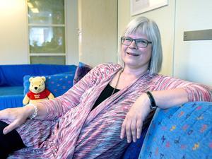 På Skeppet hjälper Kristina Renard-Hård barn att bearbeta olika sorters känslor,
